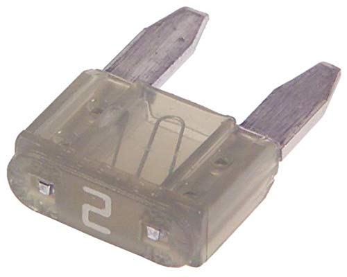 0297002.WXNV - Fuse, Automotive, Fast Acting, 2 A, 32 V, 10.9mm x 3.8mm x 8.8mm, MINI 297 Series (0297002.WXNV) (Pack of 250)