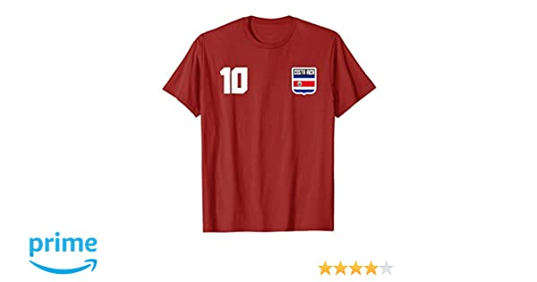 Amazon.com: Costa Rica T-shirt Costa Rican Flag Soccer Futbol Fan Jersey: Clothing