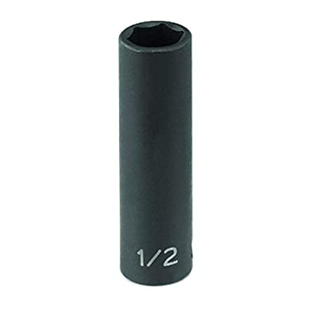 1012MDG Grey Pneumatic 3//8 Drive x 12mm Magnetic Deep Socket