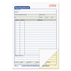 TOP46259 - Tops Receiving Record Book