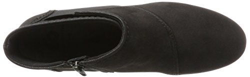 Caddell Rush Black Sneakers Clarks Hautes Femme Clarks Noir Caddell Noir qR4Enna