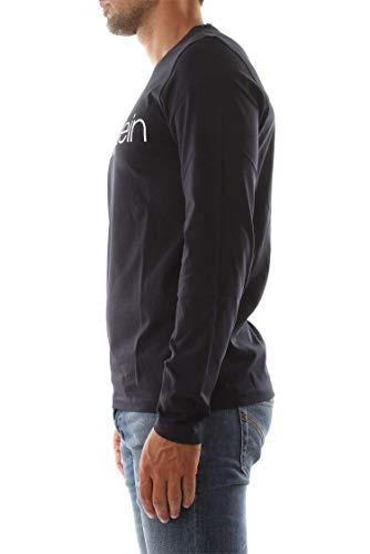 K10k102692 Logo shirt Cotton Homme Calvin Captain Ls Sky T Klein 7nwAW5q4