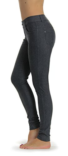 Prolific Health Women's Jean Look Jeggings Tights Yoga Ma...
