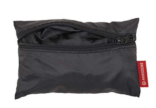 31  UcuhBUL Harissons Polyester Waterproof & Weatherproof Black Rain Cover for Backpack