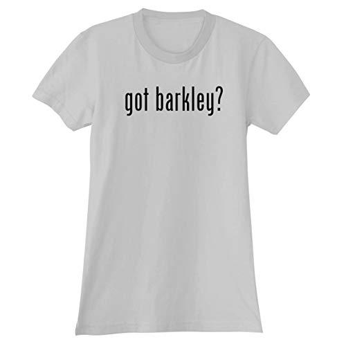 The Town Butler got Barkley? - A Soft & Comfortable Women's Junior Cut T-Shirt, White, Small