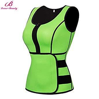 ee47ec2f71 Uniqus Lover-Beauty Plus Size Sweat Waist Corset Waist Trainer Belt Sauna  Suit Vest Shaper