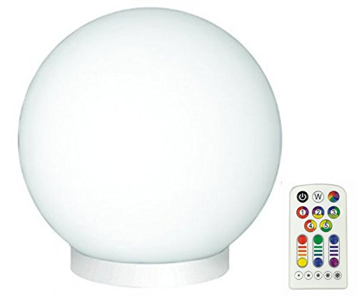 glam lighting. Jedi Lighting 3-in-1 Glam RGB LED Glass Ball Light, Dimmable, Glam Lighting