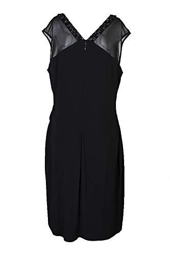 LAUREN RALPH LAUREN Womens Sleeveless Mini Party Dress Black 16