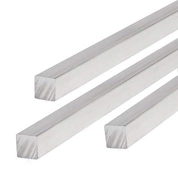 Aluminium Vierkant Alu Vierkantstab Vollmaterial 250mm 1000mm