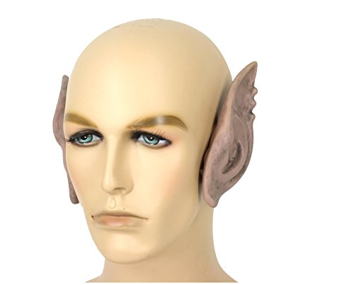 [Flexi Ogre Ears Costume Accessory (Flesh)] (Goblin Costume Wow)