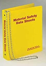 Horizon Manufacturing 3011 English MSDS Binder 1.5 in. Ring - Holds 275-300 sheets