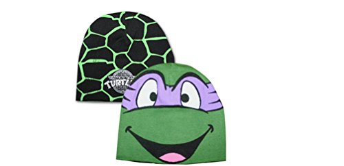Purple Reversible Knit Beanie - Teenage Mutant Ninja Turtles Donatello Knit Reversible Beanie