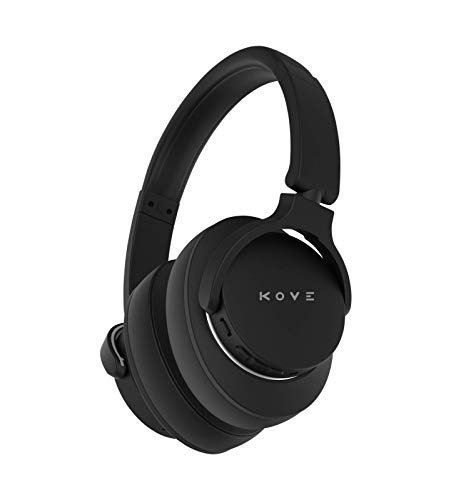 Kove 101-N Active Noise Cancelling Headphones – Wireless Over-Ear Bluetooth Headphones, 200H Stand-by Time, Hi-Res Audio…