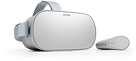 Oculus Go Standalone Virtual Reality Headset - 64GB - Grey - Android