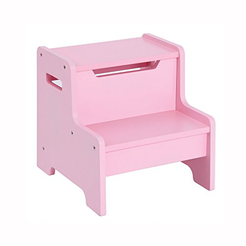Guidecraft Expressions Step Stool Pink G87506 Hardware