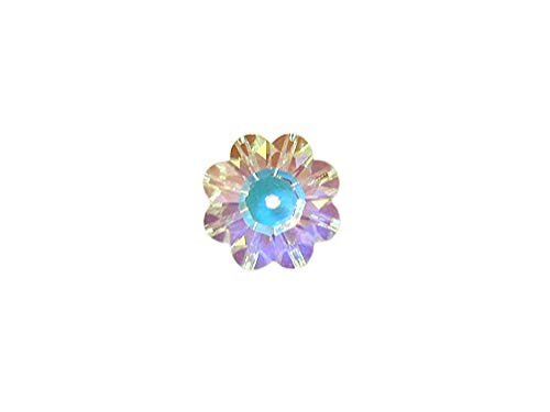 Swarovski Crystal Margarita Beads #3700 8mm Crystal AB, Wholesale, Choose Package Size (144) ()
