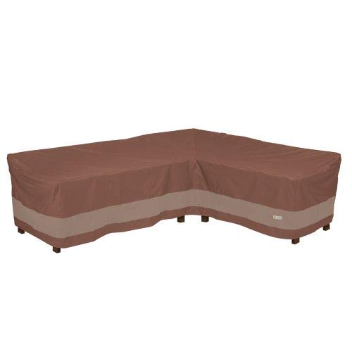 Duck Covers USC10685 Ultimate L-Shape Sectional Lounge Set Cover-Right, Mocha Cappuccino by Duck Covers