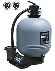 "WaterWays Carefree 22"" Sand Filter with 1.5 h.p. Pump wit..."
