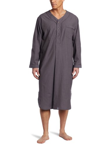 Majestic International Men's Basics Night Shirt