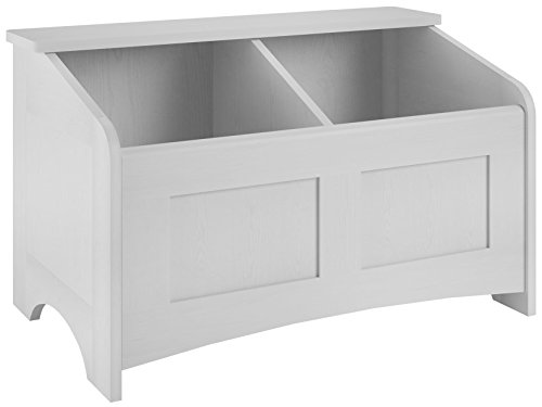 (Ameriwood Home Cassidy Toy Chest, Federal White)