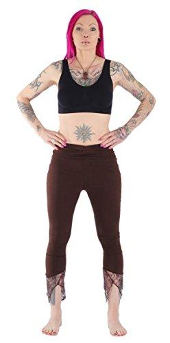 FAIR & GLOBAL - Pantalón - Básico - para mujer marrón