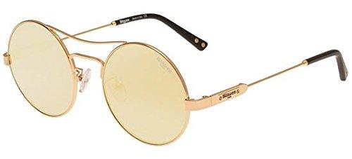 Blauer Gafas de Sol FRANKLIN BL510 GOLD/GOLD MIRROR unisex ...