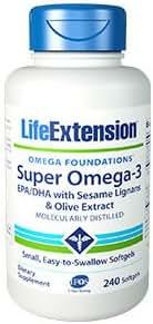 Life Extension Super Omega-3 EPA 240 Count (240 X 2)