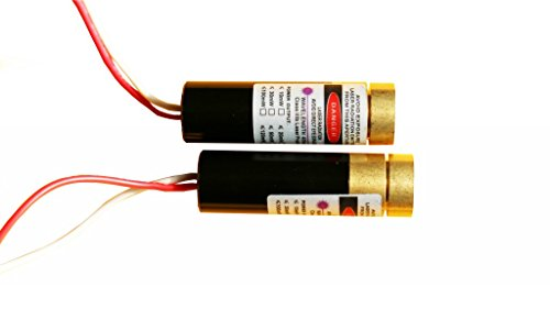 Lights88 Violet Laser Module Purple Blue Laser Diode(405nm 20mw 30mw Dot Laser Adjust Focus) by lights88