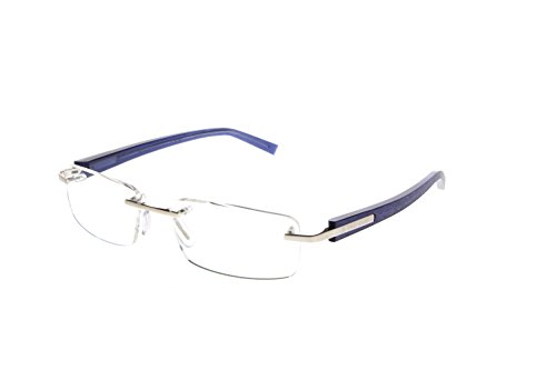 TAG Heuer Men's 8104 Trends Rimless Designer Eyeglasses - 011 - Tag Glasses Rimless