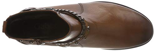 Basic 22 Gabor Botines Caramello Shoes Effekt Femme Marron 5n4qz1x4w