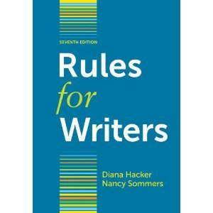 Rules for Writers, 7th Edition (Rules For Writers 7th)