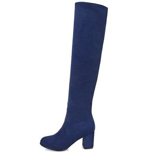 Donna VulusValas Pull on Fashion Blu Stivali dwrgqW8Srx
