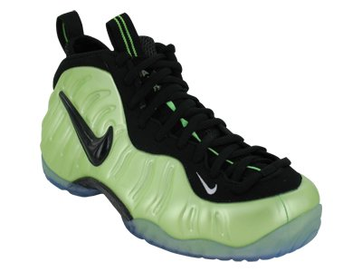 ELECTRIC GREEN WHITE BLACK Nike Air Foamposite Pro Mens Hi Top Basketball Trainers 624041 Sneakers shoes
