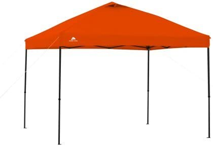 Ozark Trail.. 10 x 10 Straight Leg Instant Canopy Orange