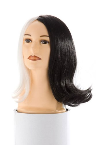 Half Black Half White Hair