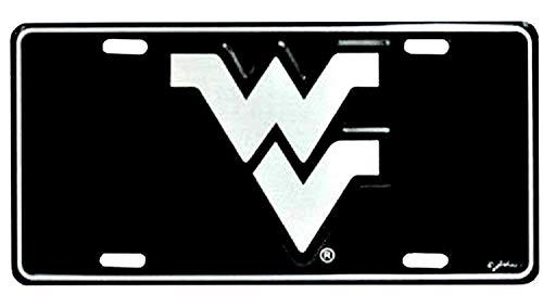 (West Virginia Mountaineers Elite License Plate)