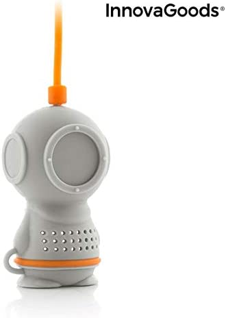InnovaGoods IG814830 Silicone Tea Infuser Diver/·T