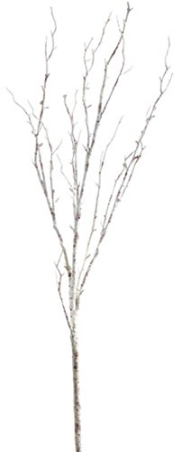 Club Pack of 12 Artificial Antique White Birch Branches 42'' by Melrose