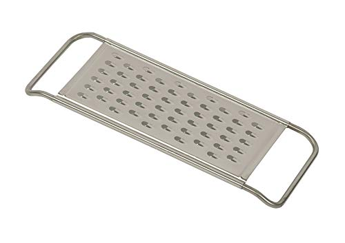 - Reiss Stainless-Steel Vegetable Grater | Coarsely Grated Pieces, Dishwasher Safe, Easy to Store Horizontal Shredder, For Potatoes, Chocolate, Cheese, Vegetables, and More