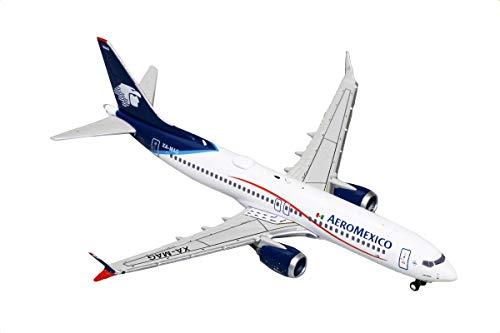 GeminiJets Aeromexico B737 MAX 8 XA-MAG 1:400 Scale Diecast Model Airplane ()