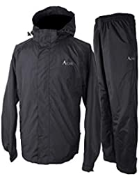 Rain Suit (Jacket + Pants), 100% Waterproof, Breathable, 10000mm/3000gm, YKK Zipper