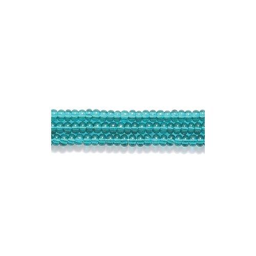 Preciosa Ornela Czech Seed Bead, Transparent Emerald, Size 11/0 Shipwreck Beads 11SB287