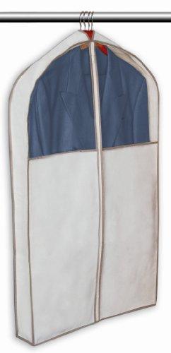 PRO-MART DAZZ Gusseted Suit Garment Bag, Beige
