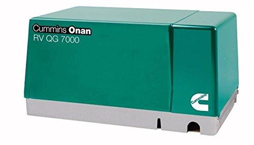 RV Trailer Camper Cummins Onan Generator Qg 7000W Gasoline Onan 7.0HGJAB-900