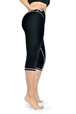 ZIKZAK Women's Capri Active Yoga Pants Workout Leggings Black