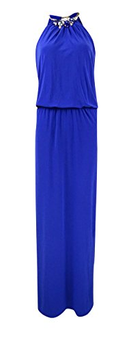 Jeweled Jersey Dress - 7