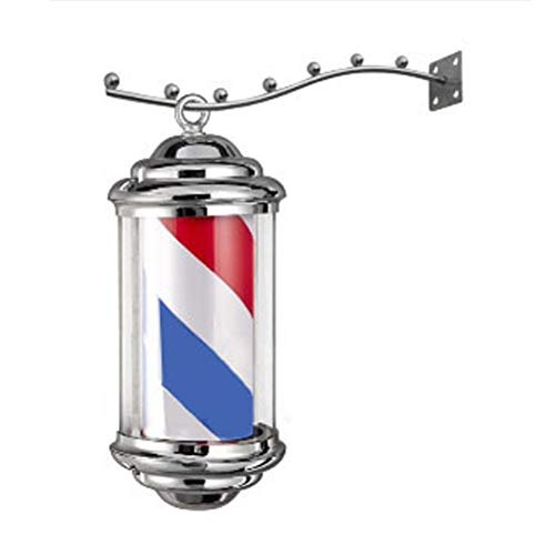 Barber Shop Turn Light Beauty Salon Turn Lamp Hair Salon Logo Light LED Daylight Plating Cylindrical Cap Light