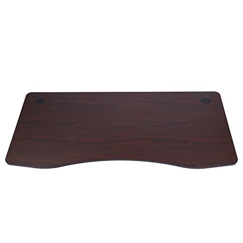 Sunon Laminate Table Top 71 x 33 Executive Office Desk Top Wood Table Top for Sunon Height Adjustable Electric Standing Desk Frame DIR37149073BL Mahogany