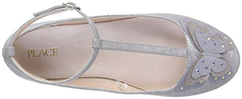 The Children's Place Girls' T-Strap Ballet Flats, Light Lavender, Youth 3 Child US Little Kid by The Children's Place (Image #8)