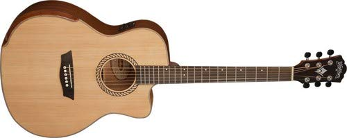 Washburn 12 String Acoustic-Electric Guitar, Natural (WCG15SCE12-O)